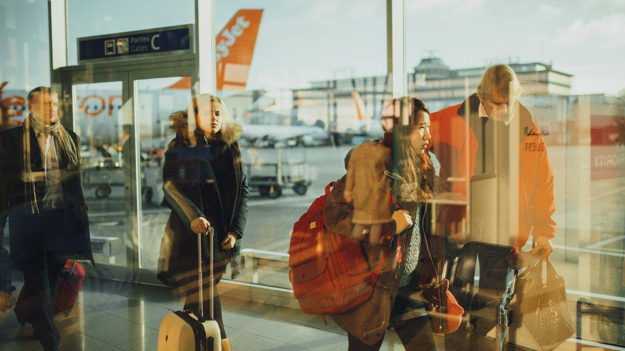 O tráfego de passageiros da Europa em situou-se ao nível de 1995