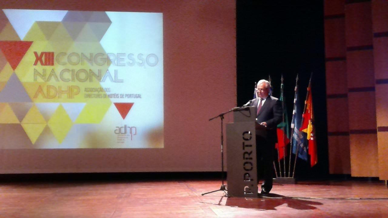 Presidente da CTP no Congresso da ADHP