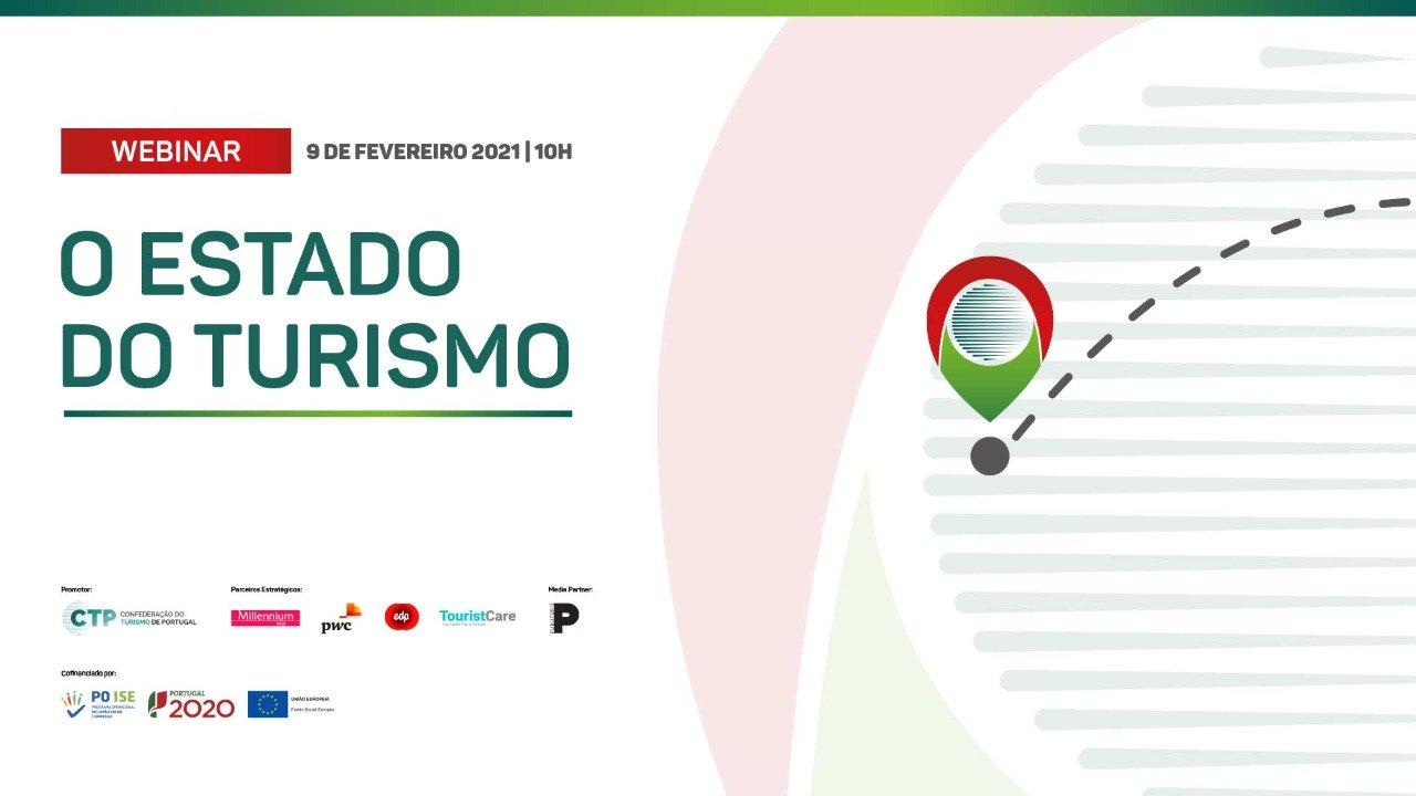 Webinar CTP: 'O Estado do Turismo'